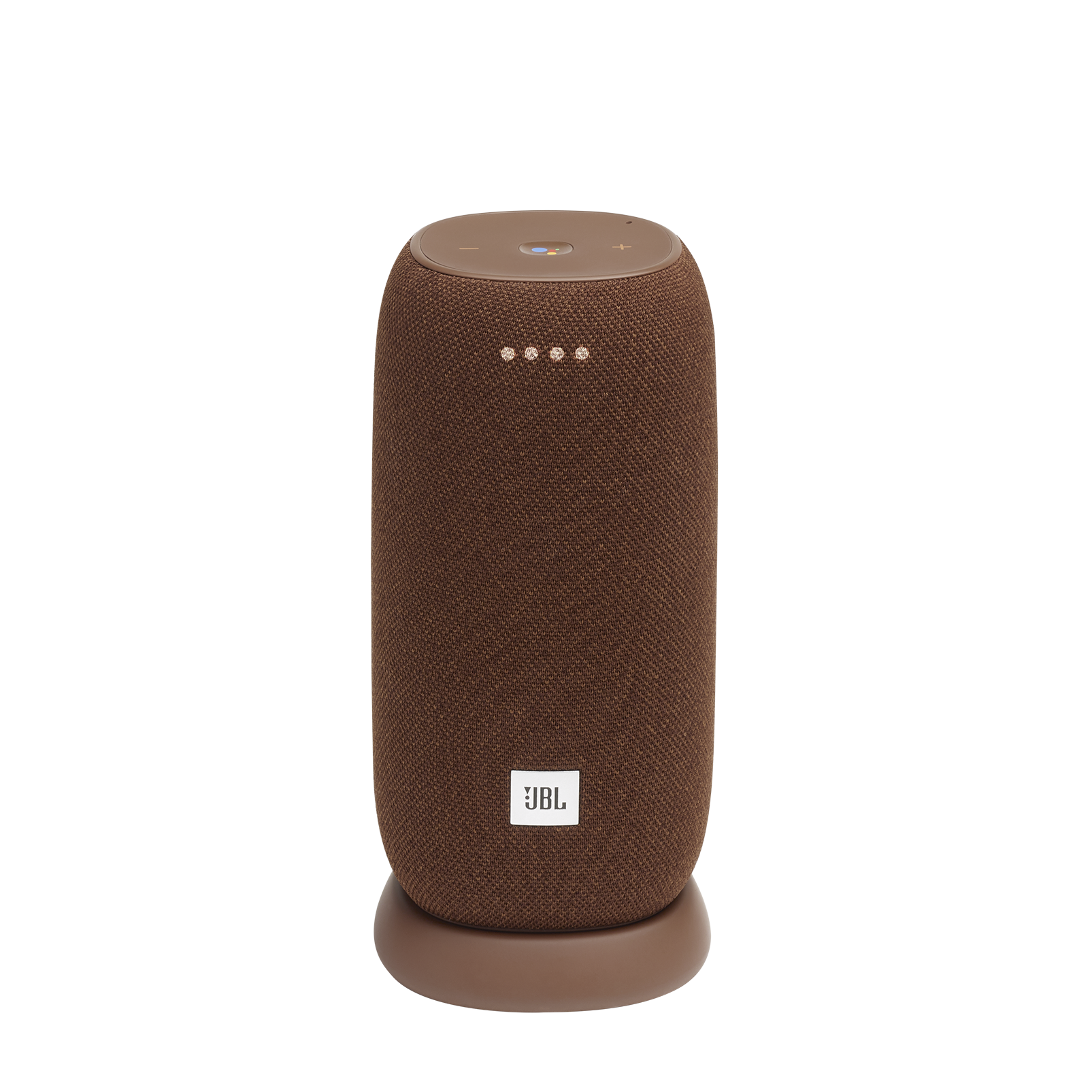 JBL Link Portable - Brown - Portable Wi-Fi Speaker - Hero