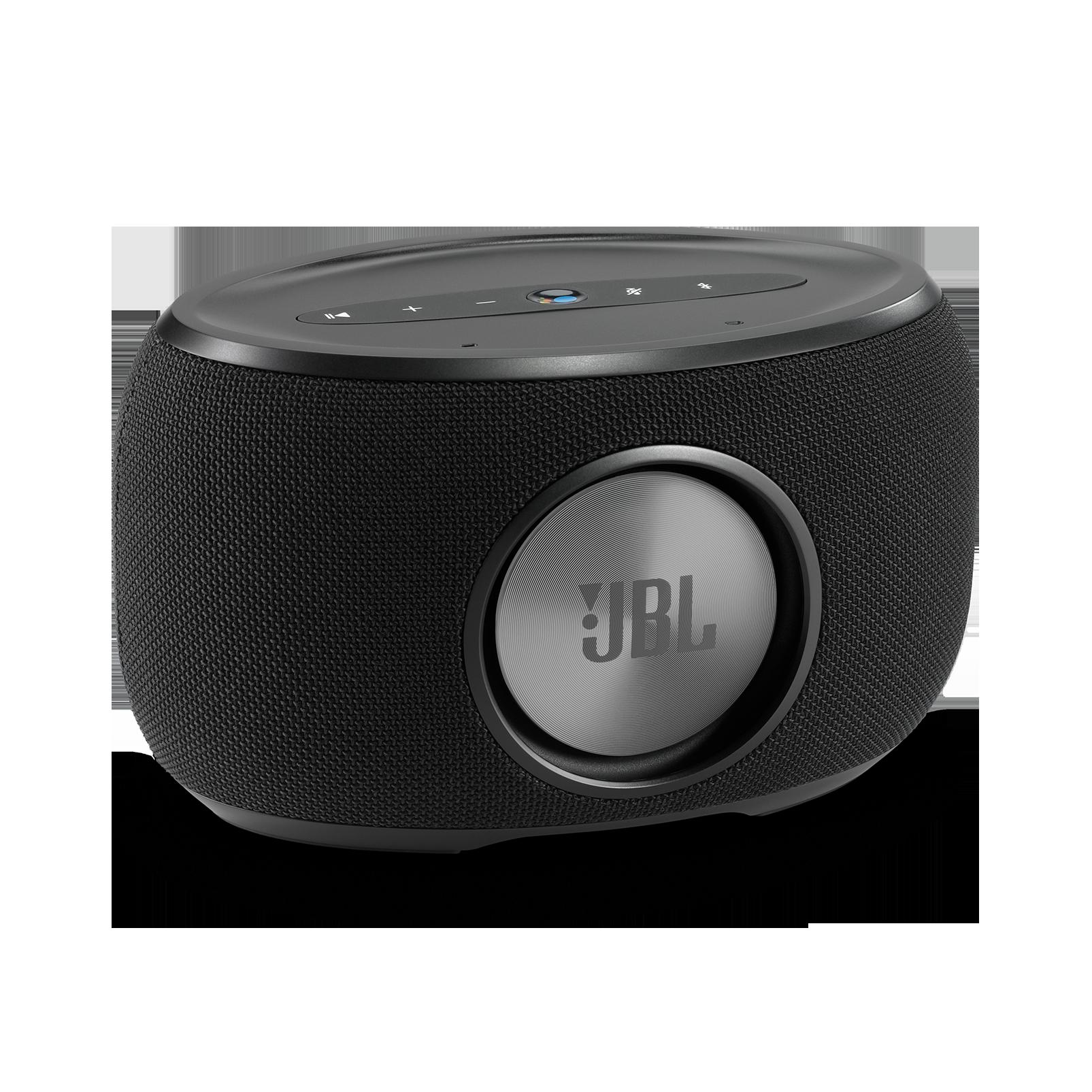 JBL Link 300 - Black - Voice-activated speaker - Back