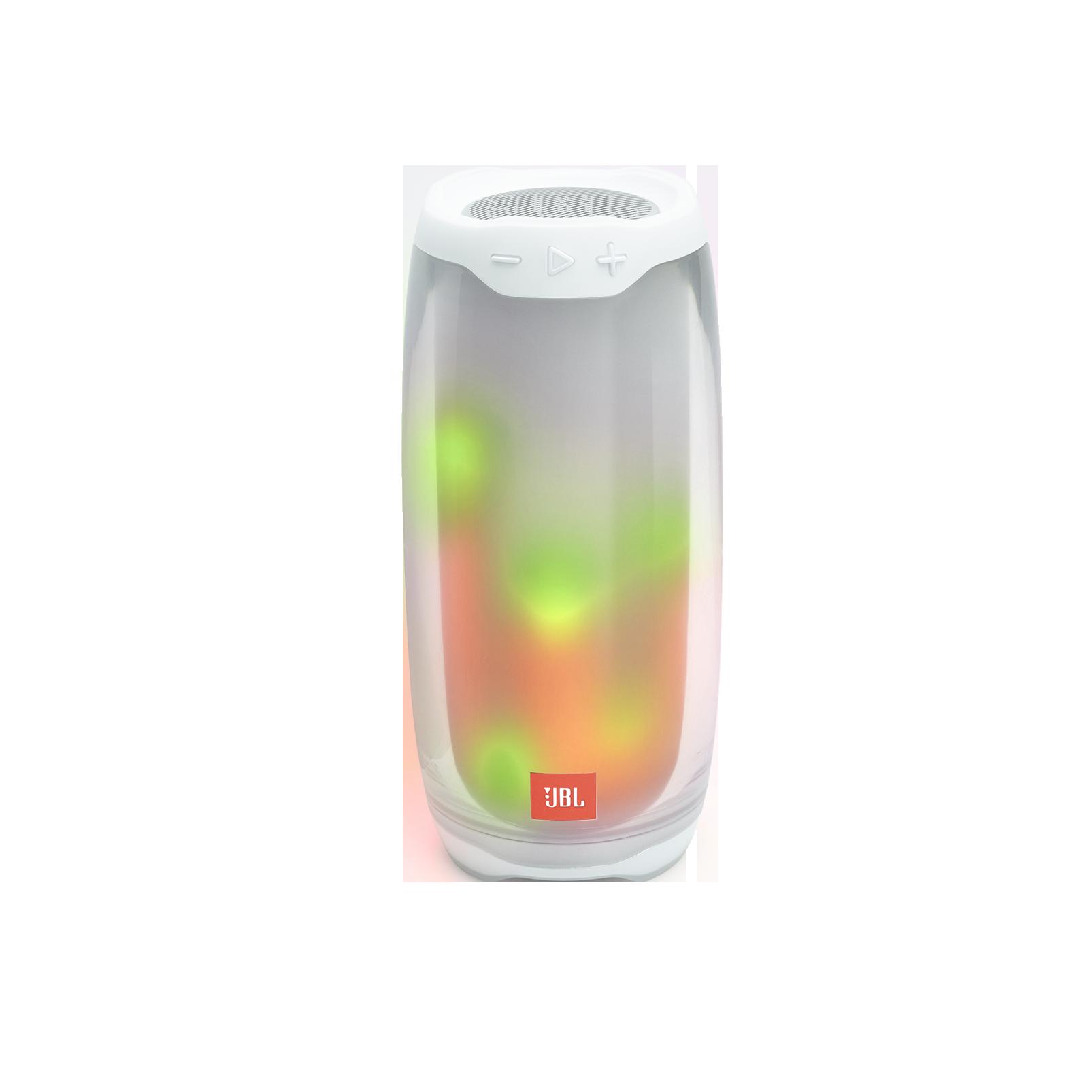 JBL Pulse 4 - White - Portable Bluetooth Speaker - Detailshot 2