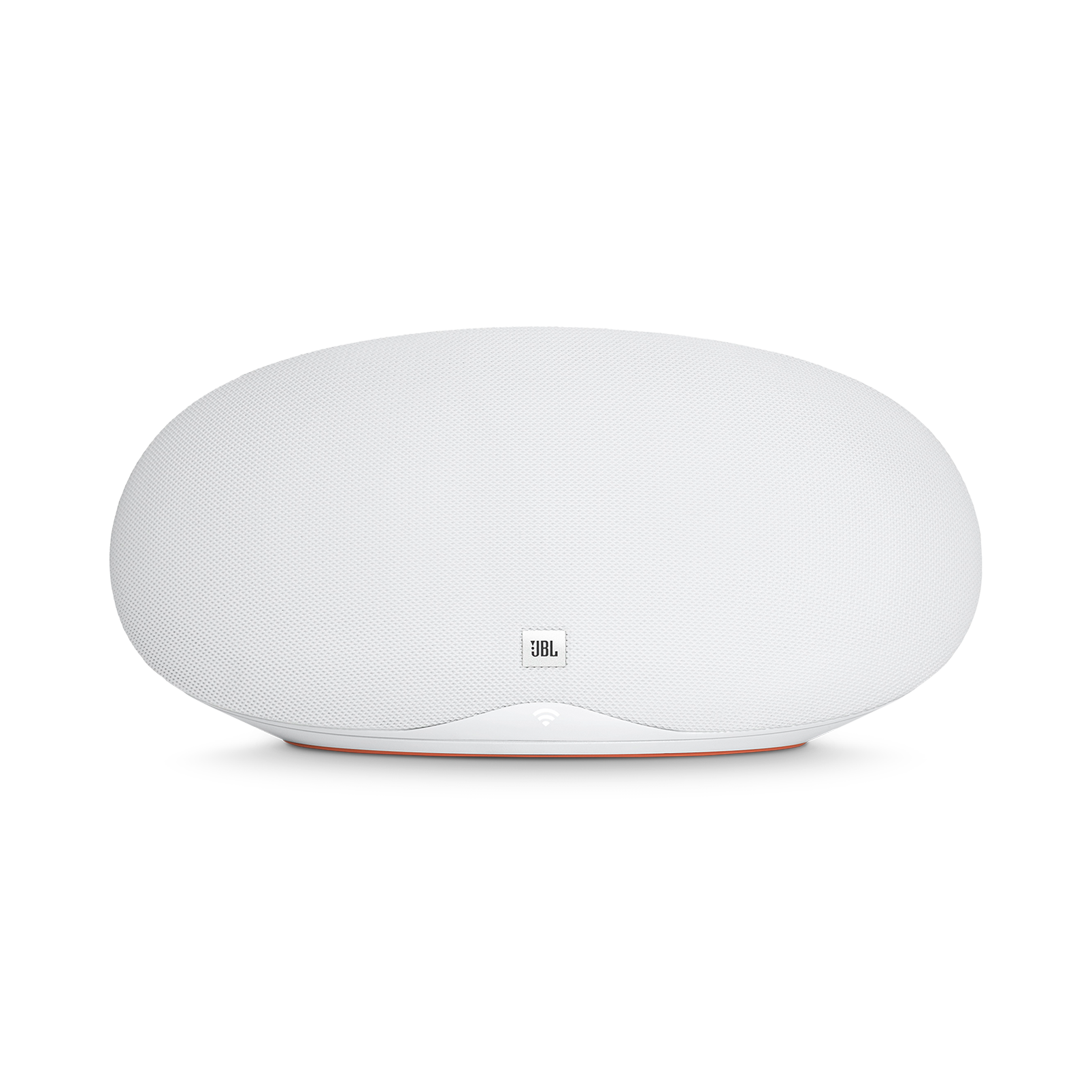 JBL Playlist - White - Wireless speaker with Chromecast built-in - Front