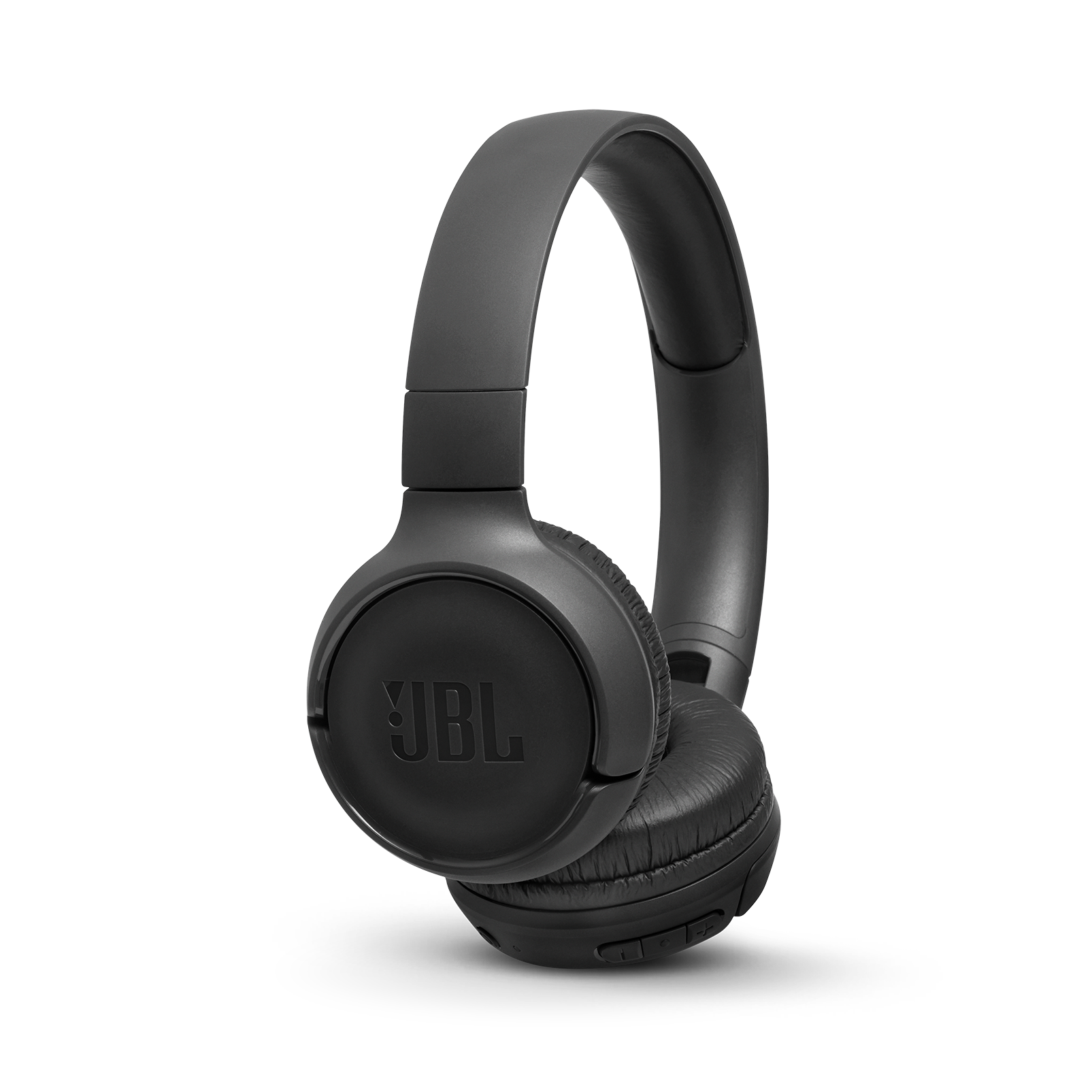 JBL TUNE 560BT - Black - Wireless on-ear headphones - Hero