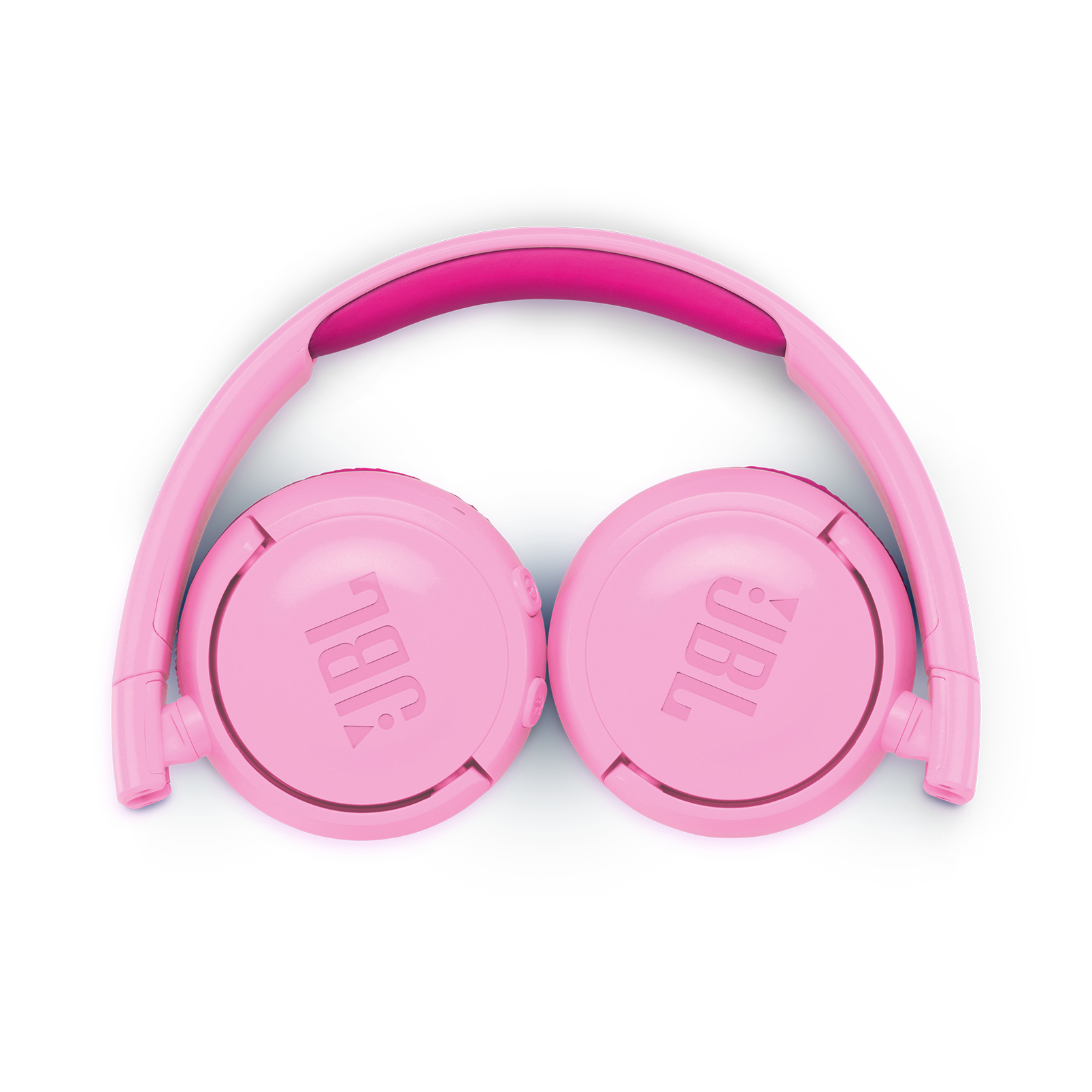 JBL JR300BT - Punky Pink - Kids Wireless on-ear headphones - Detailshot 3