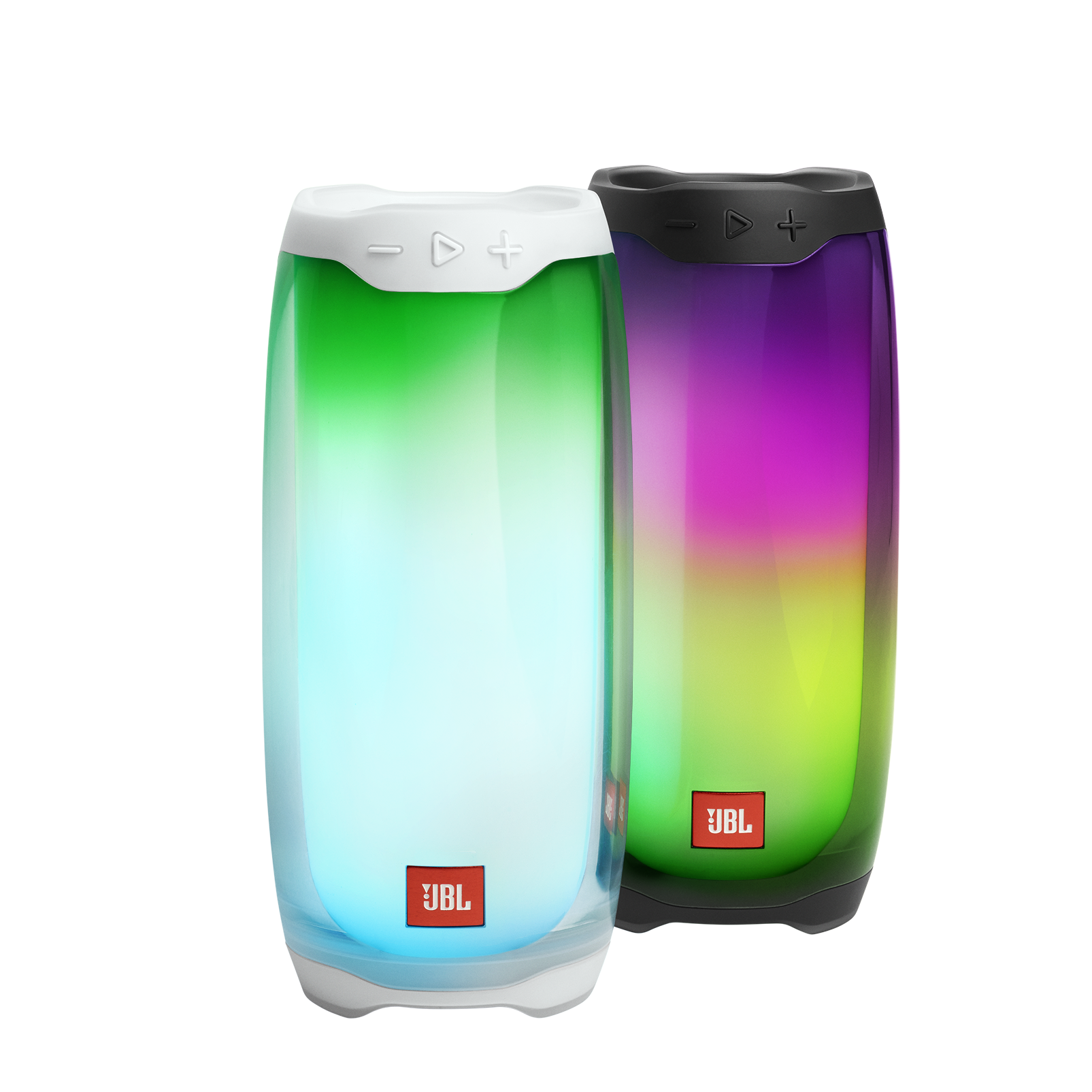JBL Pulse 4 - White - Portable Bluetooth Speaker - Detailshot 1