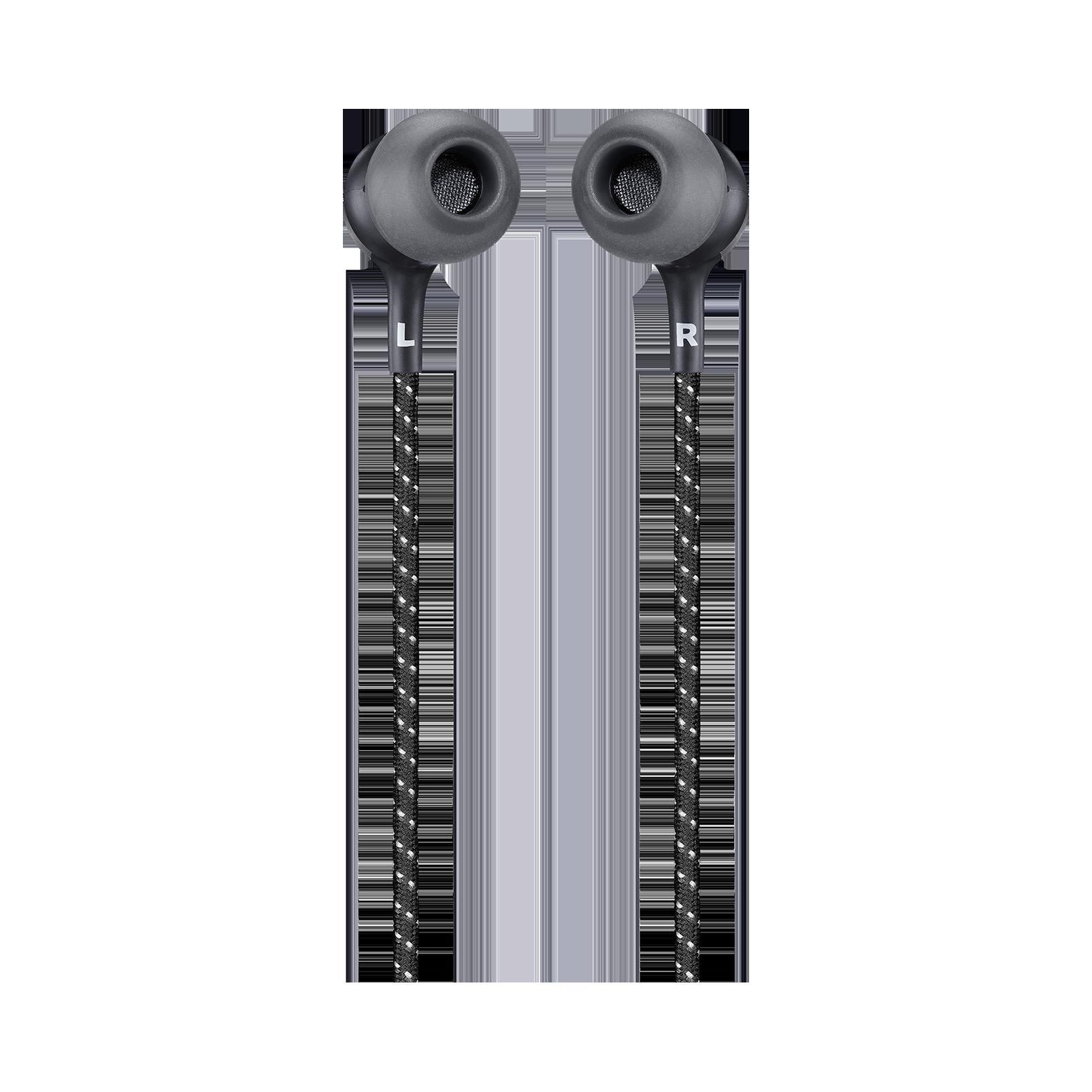 JBL LIVE 200BT - Black - Wireless in-ear neckband headphones - Back