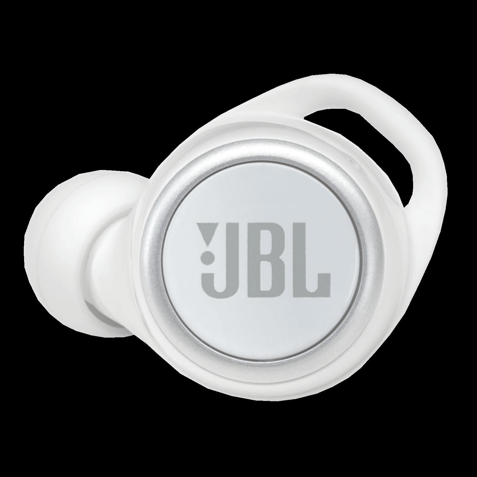 JBL Live 300TWS - White Gloss - True wireless in-ear headphones with Smart Ambient - Detailshot 2