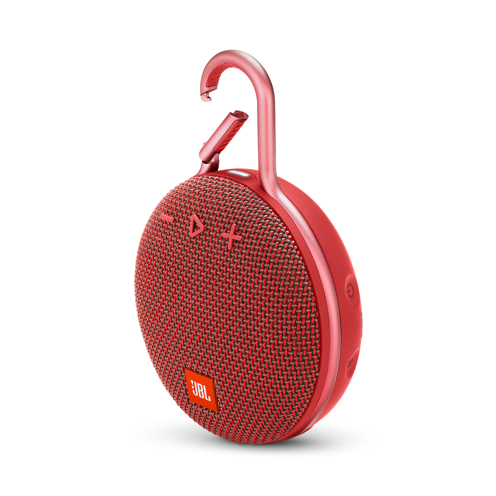 JBL CLIP 3 - Fiesta Red - Portable Bluetooth® speaker - Hero