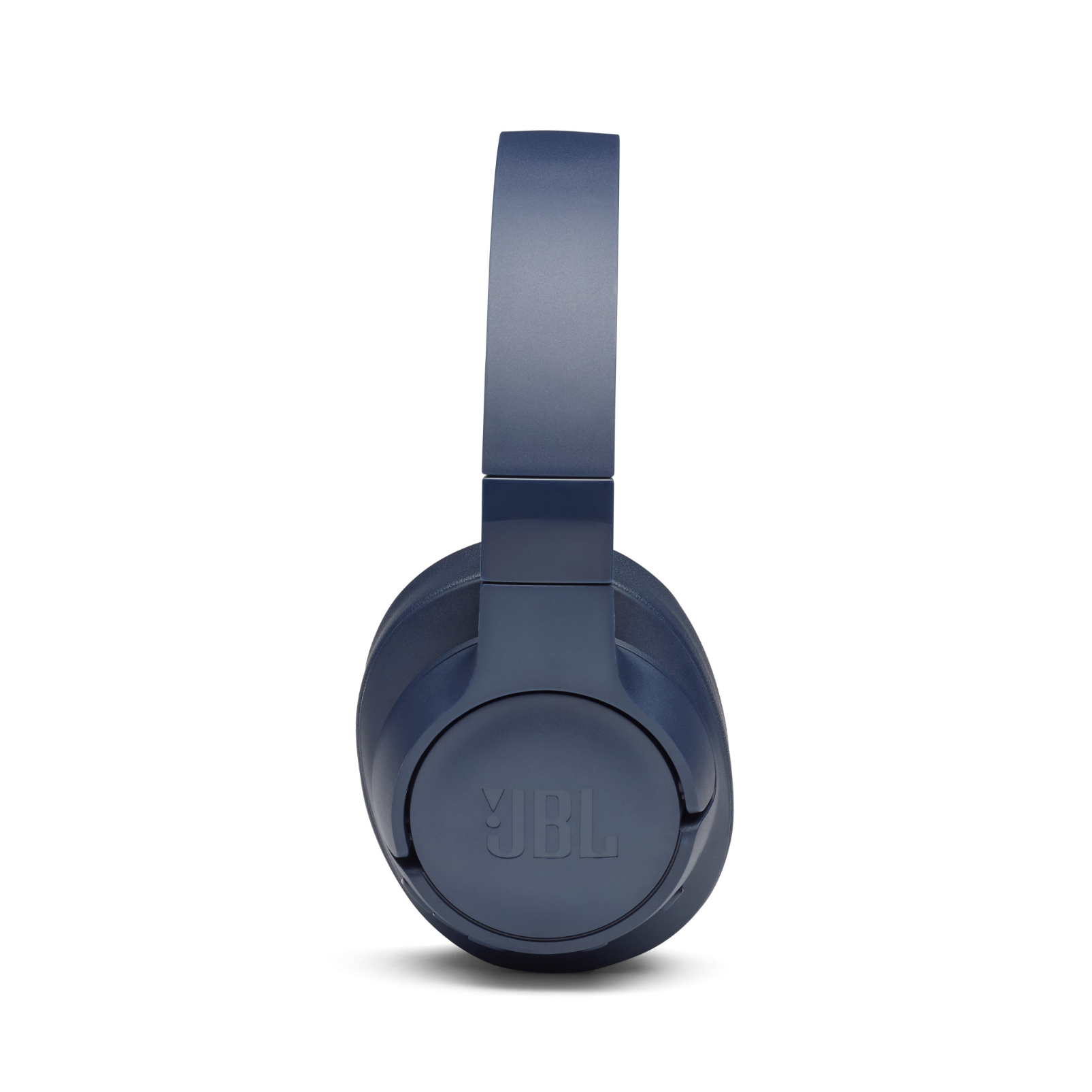 JBL TUNE 750BTNC - Blue - Wireless Over-Ear ANC Headphones - Left
