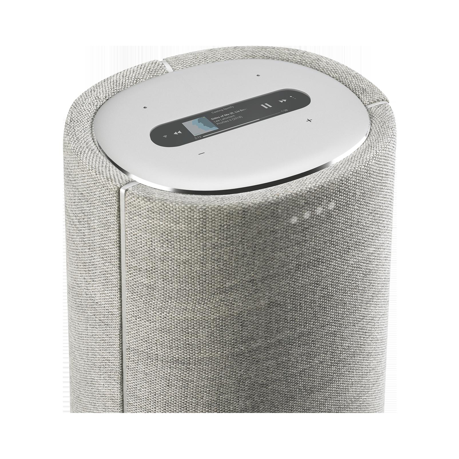 Harman Kardon Citation Tower - Grey - Smart Premium Floorstanding Speaker that delivers an impactful performance - Detailshot 1