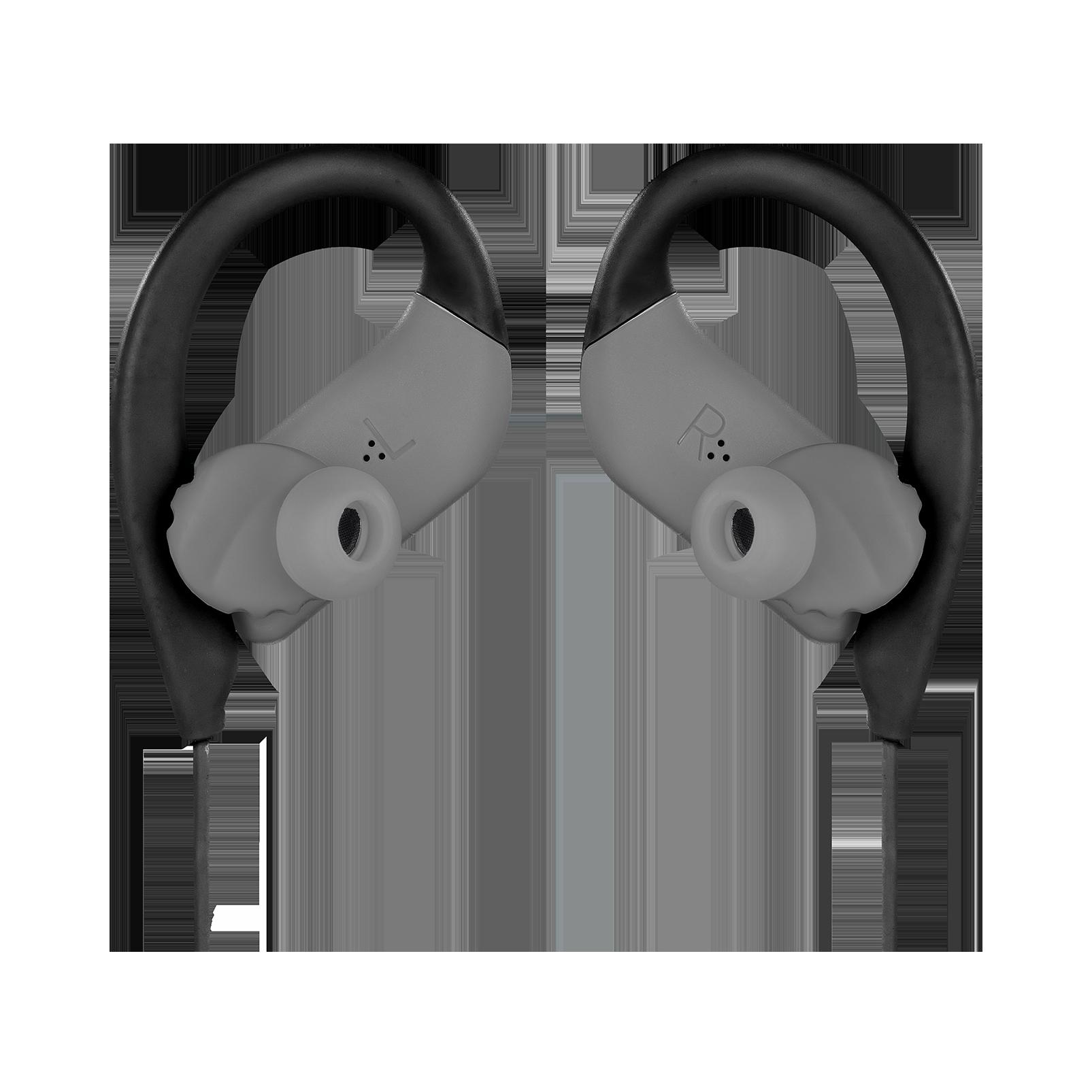 JBL Endurance SPRINT - Black - Waterproof Wireless In-Ear Sport Headphones - Detailshot 3