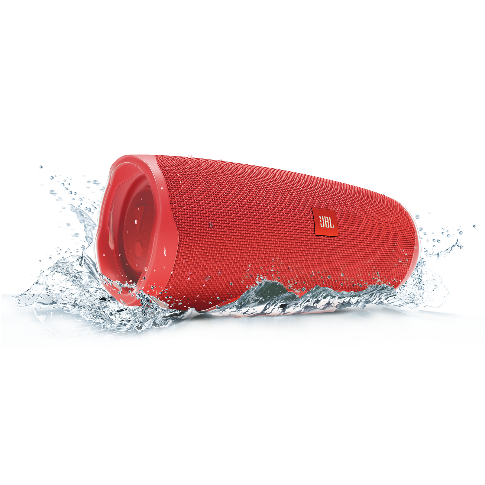 JBL Charge 4 - Red - Portable Bluetooth speaker - Detailshot 5