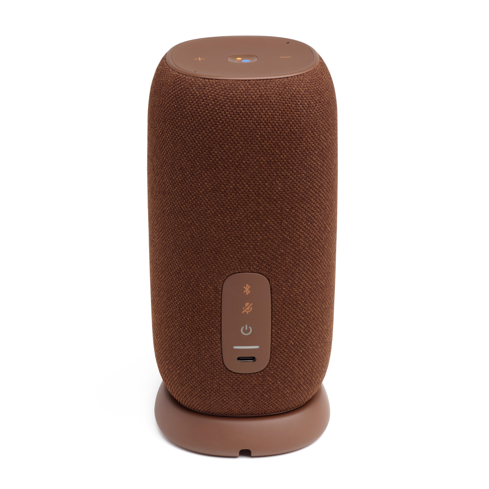 JBL Link Portable - Brown - Portable Wi-Fi Speaker - Back