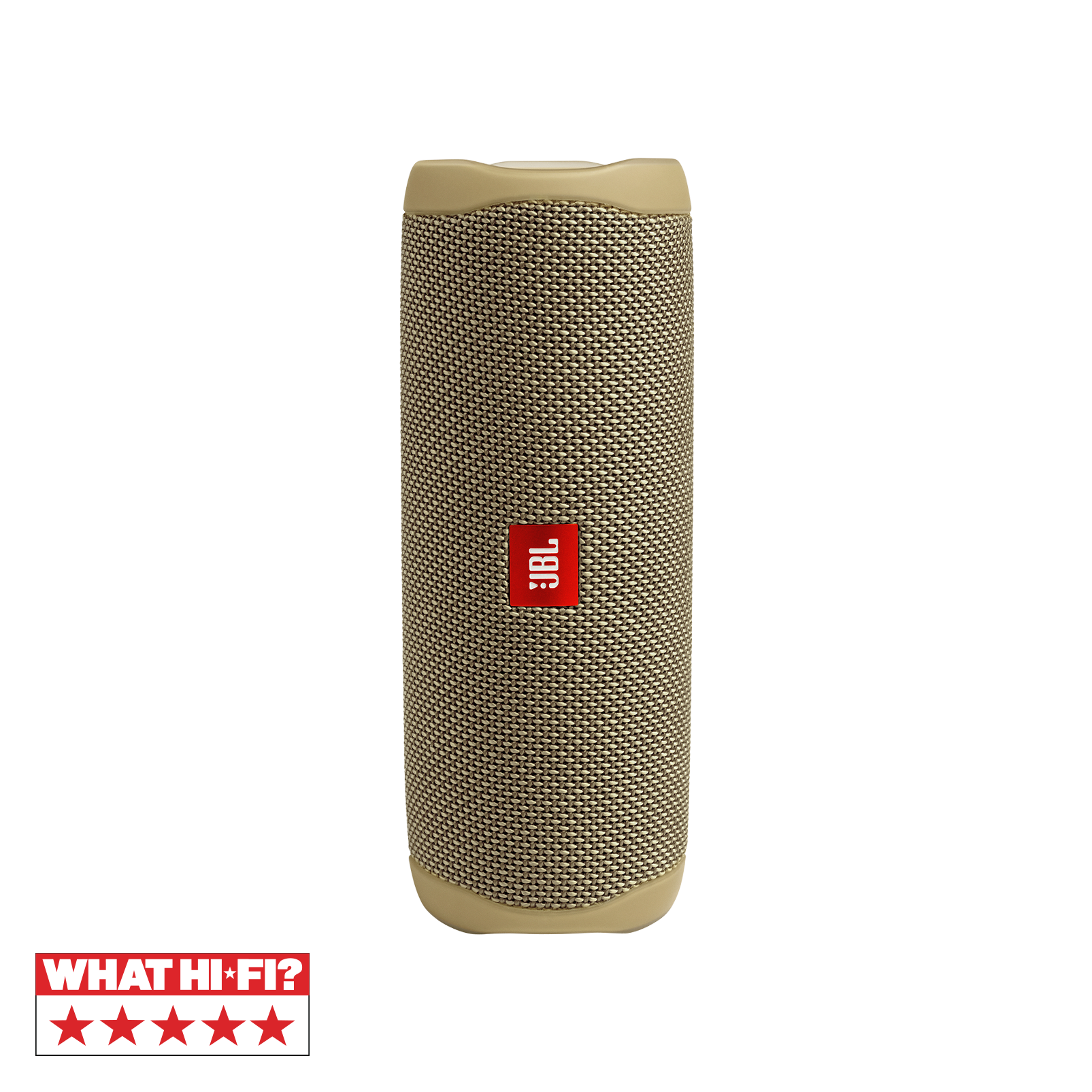 JBL FLIP 5 - Sand - Portable Waterproof Speaker - Hero