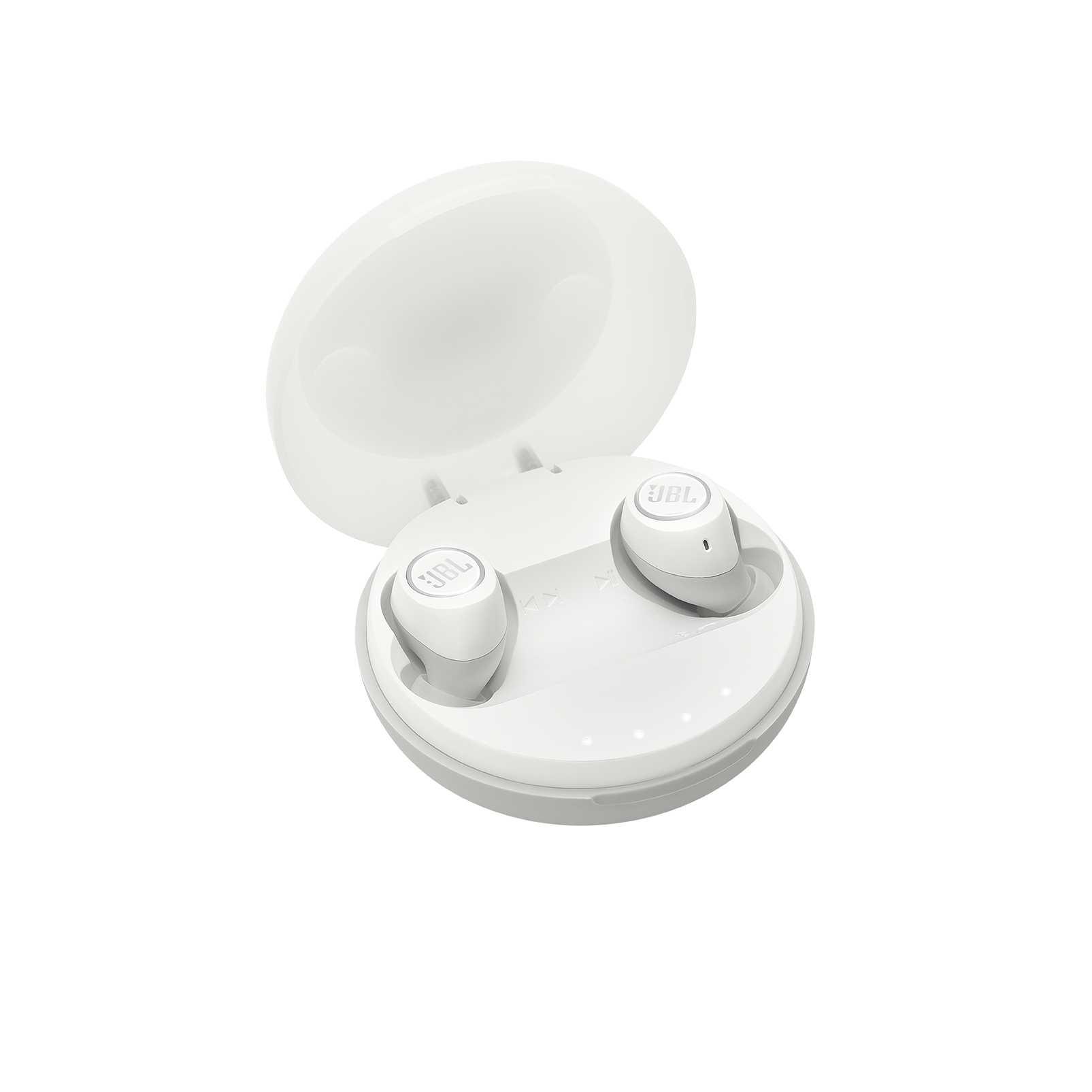 JBL Free X - White - Truly wireless in-ear headphones - Hero
