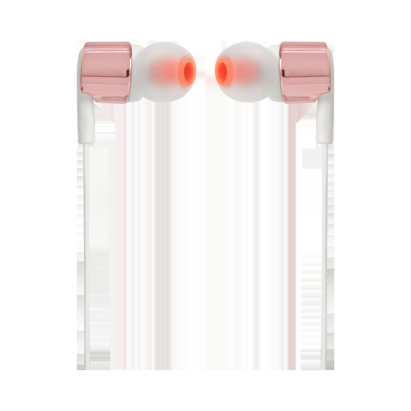 JBL TUNE 210 - Rose Gold - In-ear headphones - Front