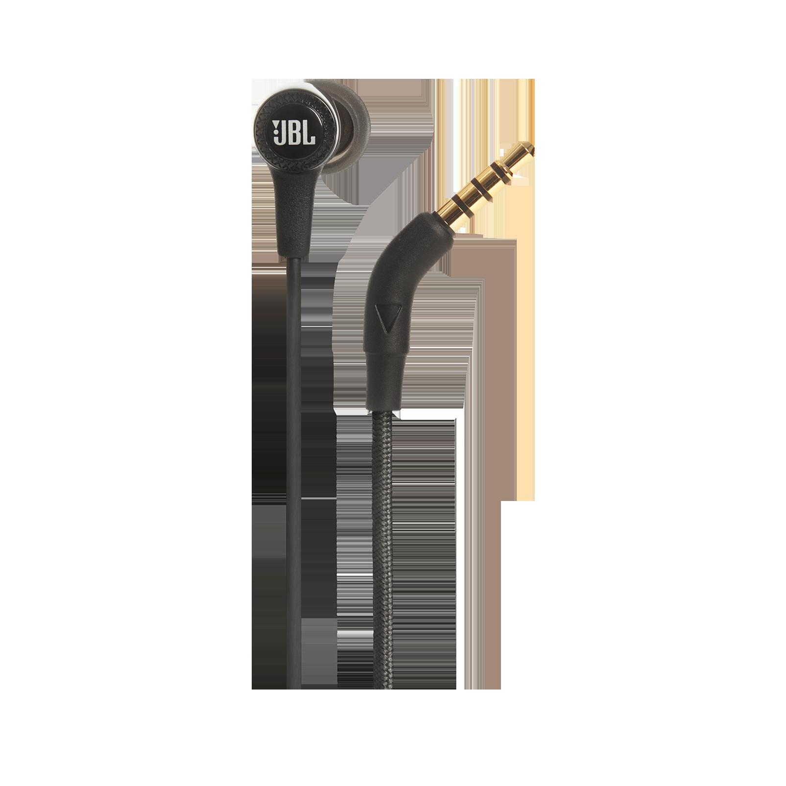E15 - Black - In-ear headphones - Detailshot 2