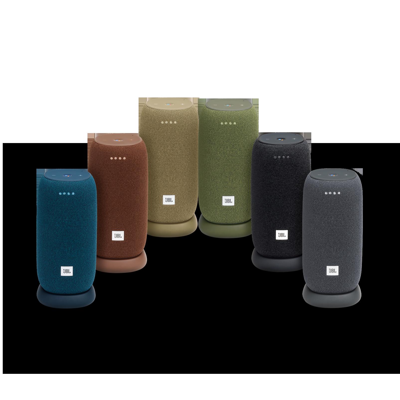 JBL Link Portable - Brown - Portable Wi-Fi Speaker - Detailshot 3