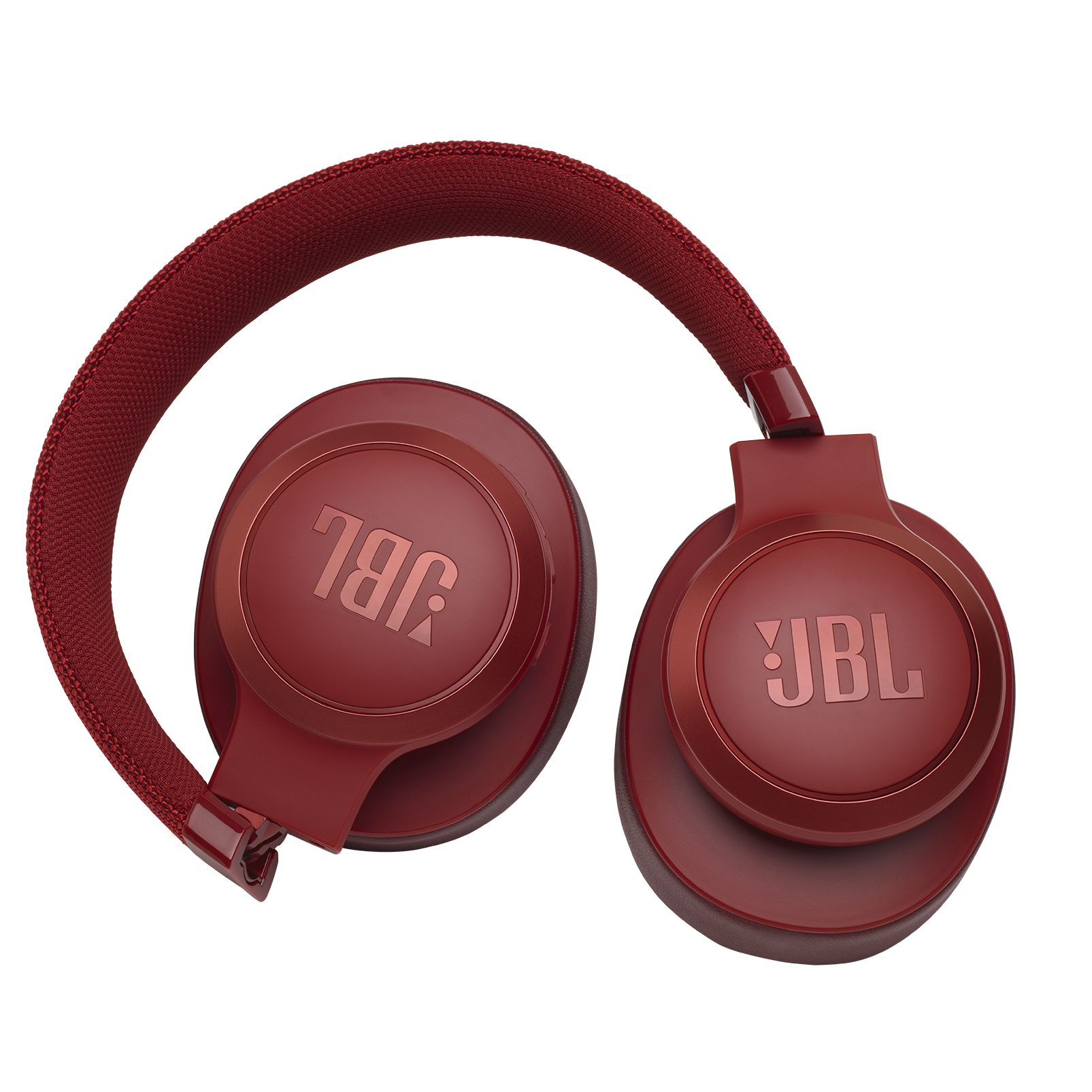 JBL LIVE 500BT - Red - Your Sound, Unplugged - Detailshot 1