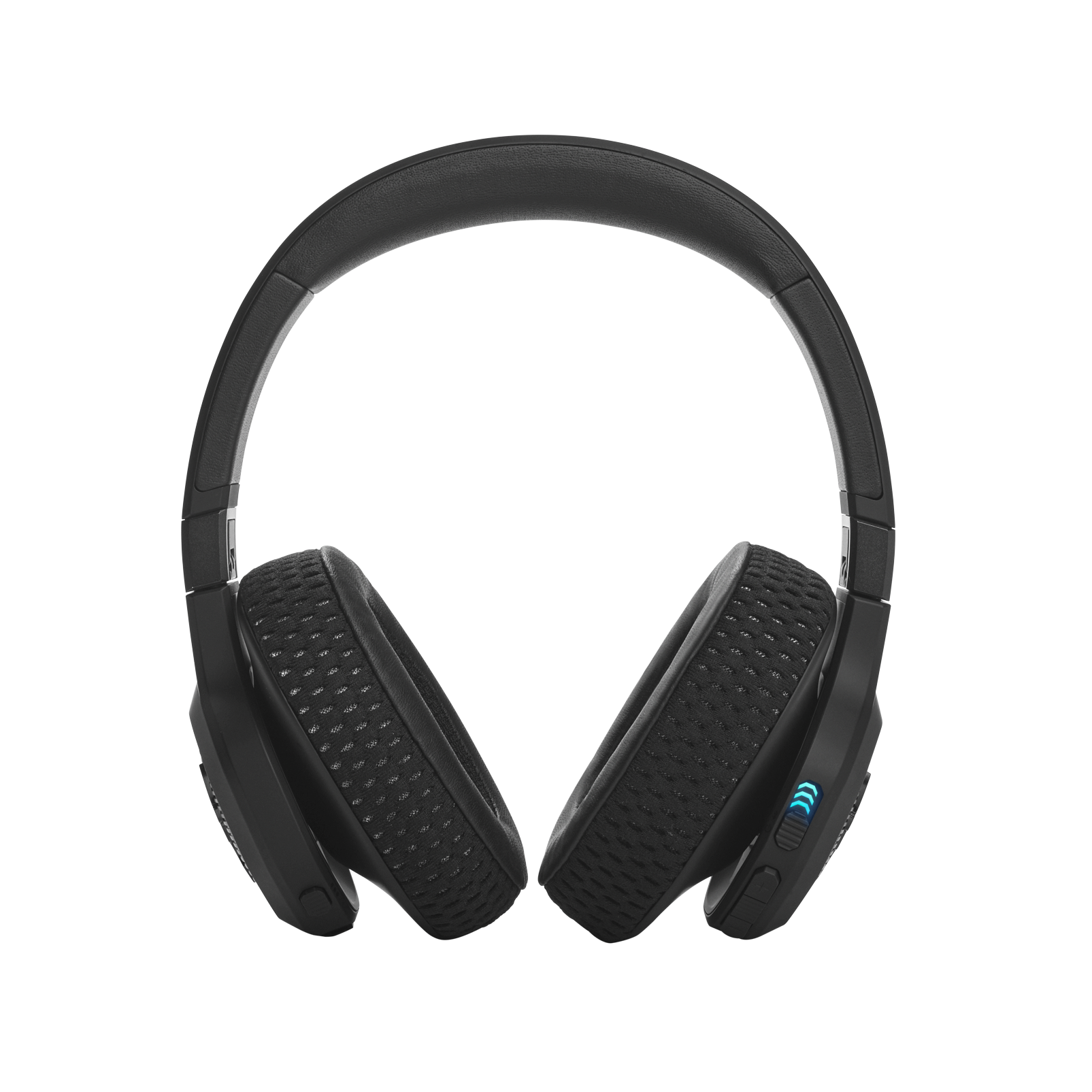 UA Project Rock Over-Ear Training Headphones - Engineered by JBL - Black - Over-Ear ANC Sport Headphones - Back