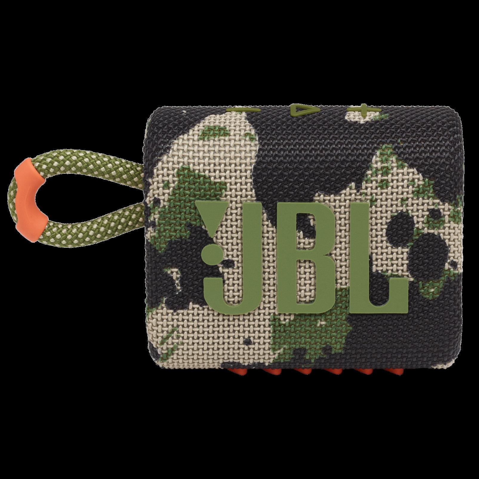 JBL Go 3 - Squad - Portable Waterproof Speaker - Front