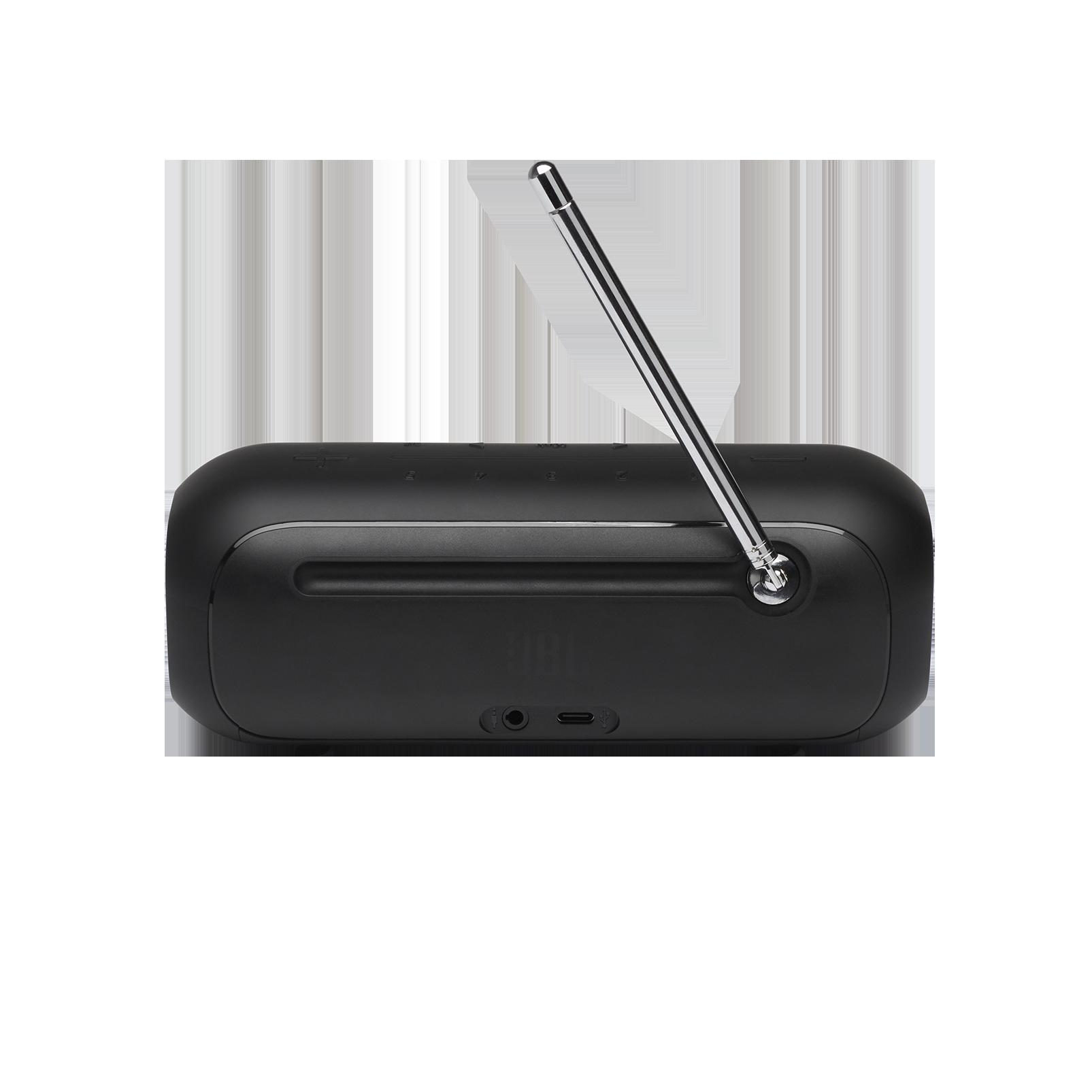 JBL Tuner 2 - Black - Portable DAB/DAB+/FM radio with Bluetooth - Back