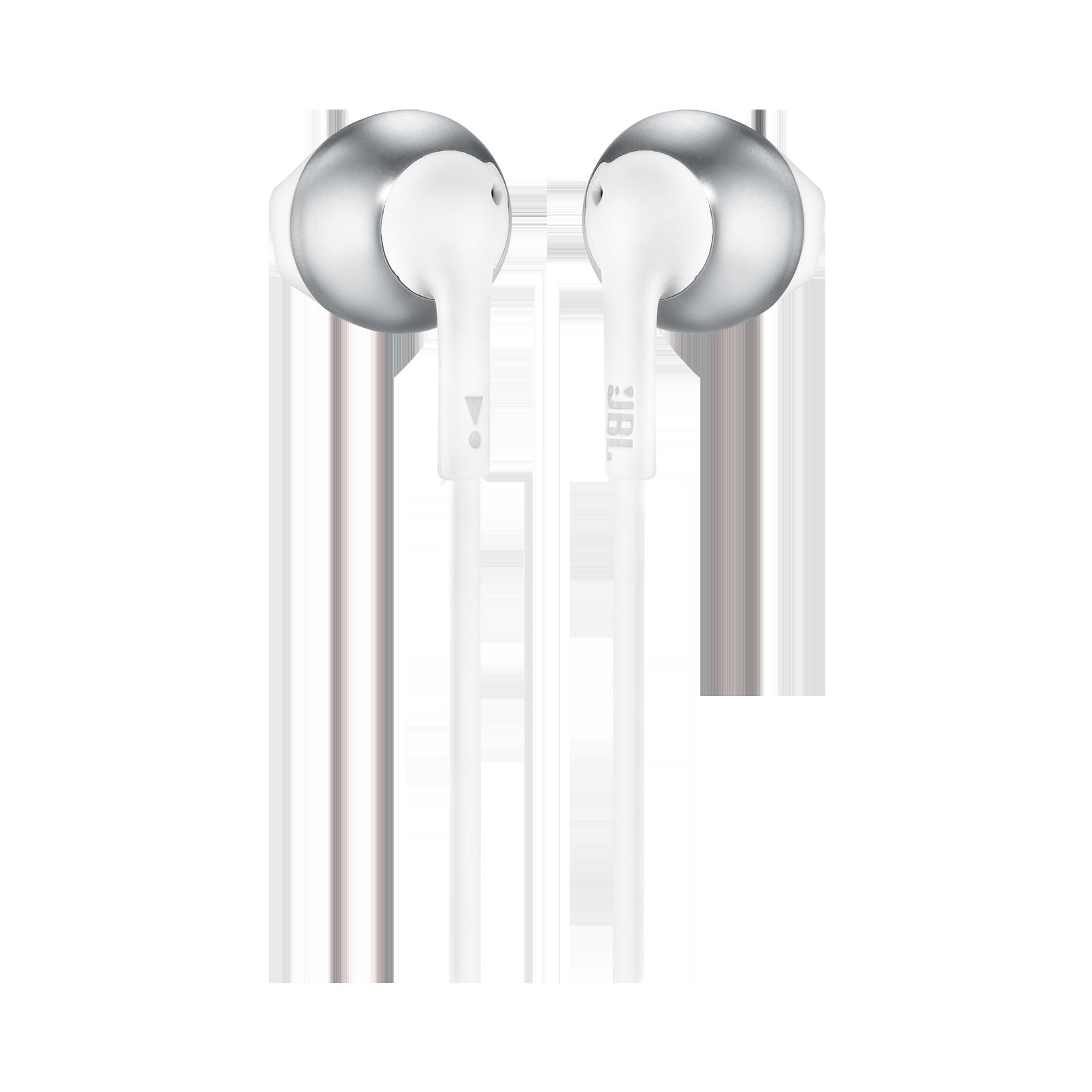 JBL TUNE 205 - Chrome - Earbud headphones - Back