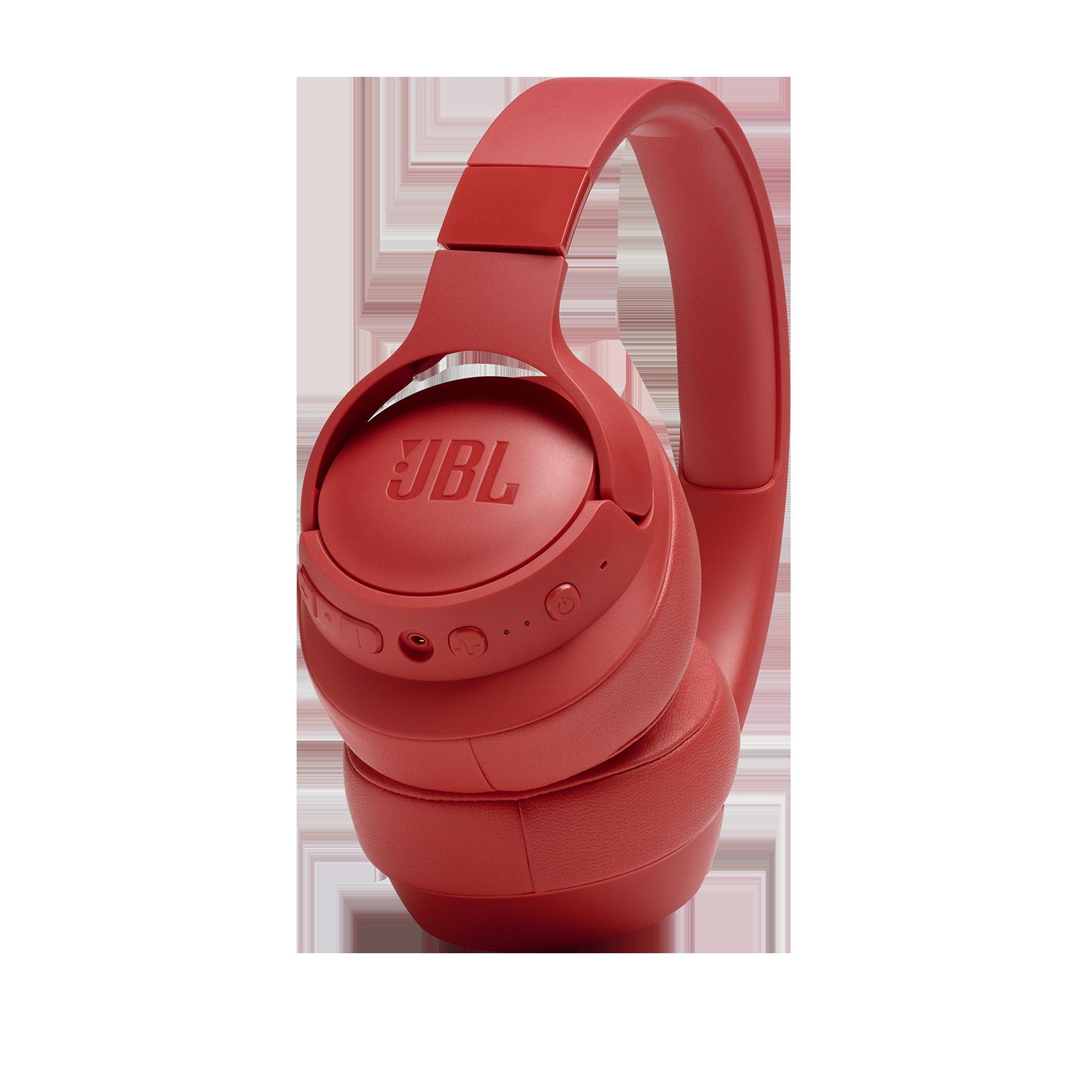 JBL TUNE 750BTNC - Coral Orange - Wireless Over-Ear ANC Headphones - Detailshot 6