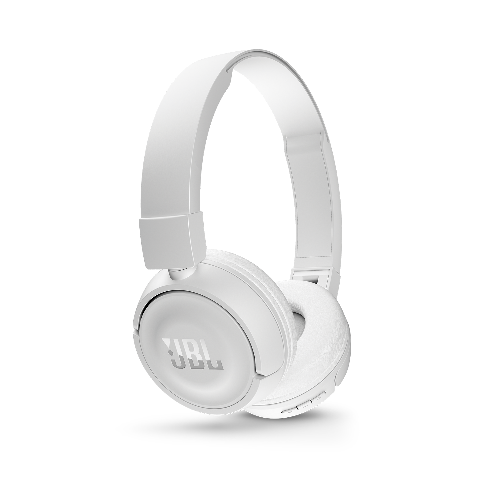 JBL T450BT - White - Wireless on-ear headphones - Detailshot 2