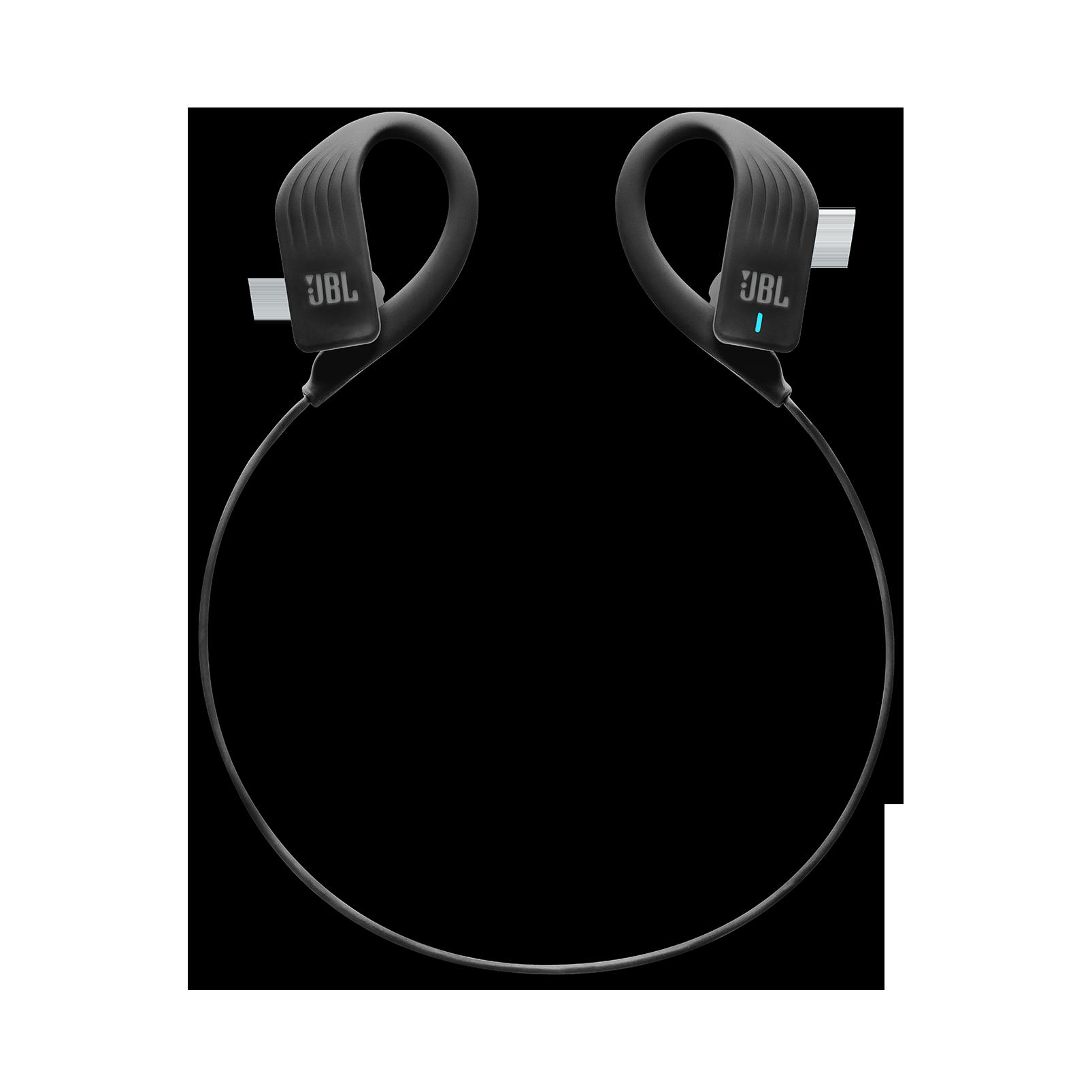 JBL Endurance SPRINT - Black - Waterproof Wireless In-Ear Sport Headphones - Detailshot 2
