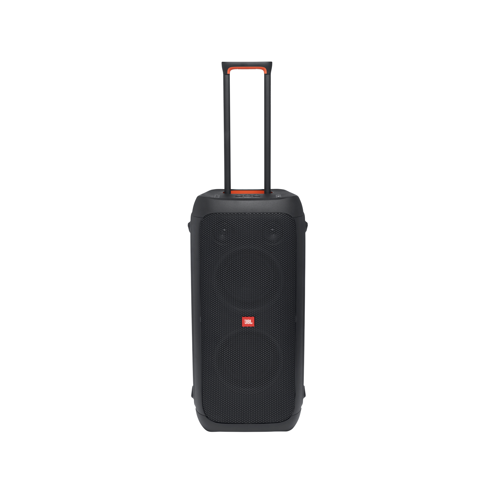 JBL Partybox 310 - Black - Portable party speaker with dazzling lights and powerful JBL Pro Sound - Front