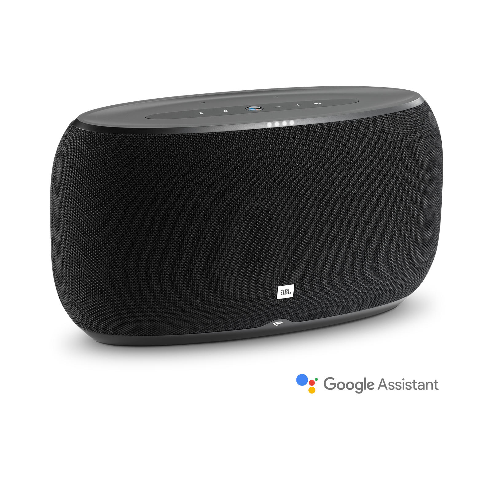 JBL Link 500 - Black - Voice-activated speaker - Hero
